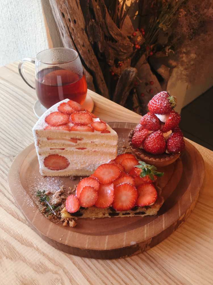 Special Tarts Full Of Strawberries | Review of Fukushima Sugar
