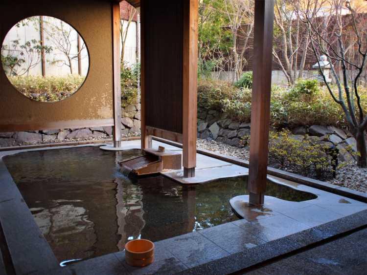 Relaxing In Asama Hot Spring Bath By 'KAI Style'   Review of Hoshino Resort KAI Matsumoto