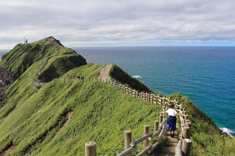 Cape Kamui Of Beautiful Shakotan Blue Sea & Dynamic Great Nature | Review of Cape Kamui