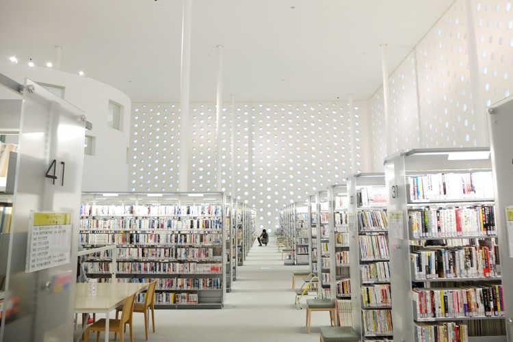 A City Library With Beautiful Dotted Windows | Review of Kanazawa Umimirai Library