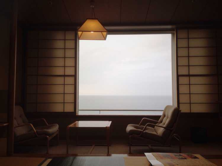 Onsen Hotel With Grand Ocean In Front & Full Of Keen Services | Review of Kaike Onsen KASUITEI