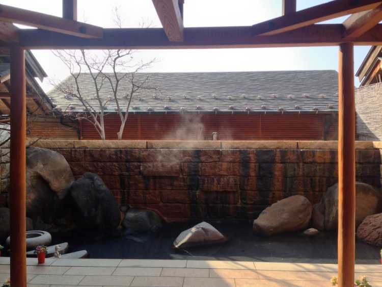 100% Pure Hot Spring Onsen With Beautiful View Of Japanese Northern Alps | Review of Omuro Onsen Makiba-no Yu