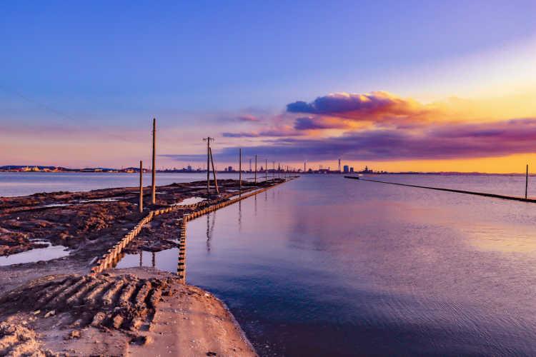 千葉のウユニ塩湖 | 江川海岸の口コミ