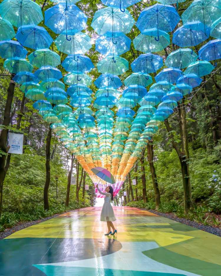日本最大級のアンブレラスカイ・デザインプロジェクト | メッツァビレッジの口コミ